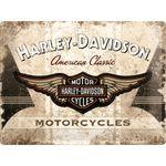 Harley-Davidson American Classic Logo 50er retro Blechschild 001