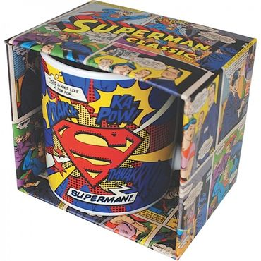 Mug - Superman ( Logo ) Comic Tasse