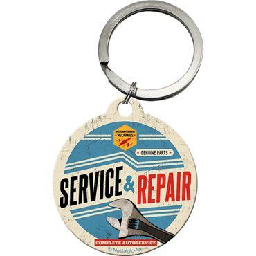 Service & Repair - Schlüsselanhänger Rund