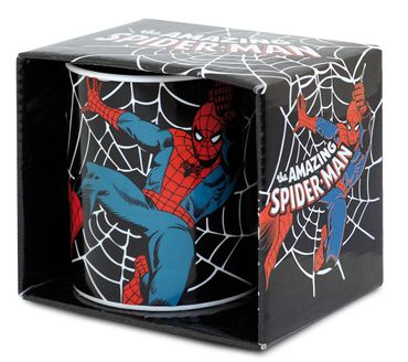 The Amazing Spiderman Marvel Comic Superhelden Tasse