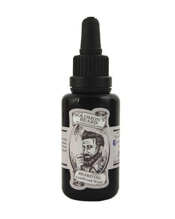 Solomon´s Vanilla & Wood Beard Oil Bart Öl
