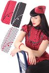 40er retro Polka Dots Military Uniform Schiffchen Hut v. SugarShock 001