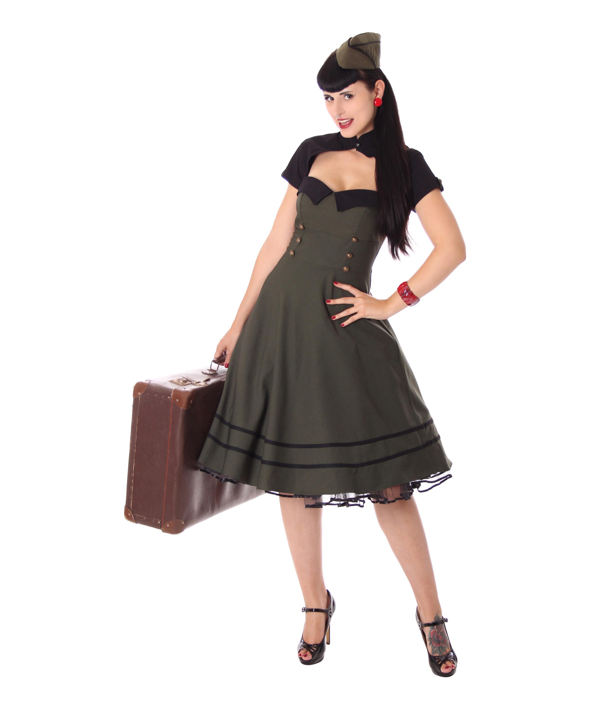 Petticoat kleid grobe 54