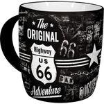 Highway 66 The Original Adventure 50s retro Tasse v. Nostalgic Art