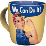 We can do it 50s retro Tasse v. Nostalgic Art