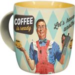 Coffee is ready 50s retro Tasse v. Nostalgic Art 001