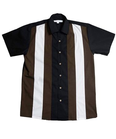Donald Panel retro Workshirt Casino Hemd Baumwollhemd