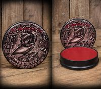 SCHMIERE Rote Tinte Pomade mittel v. Rumble59