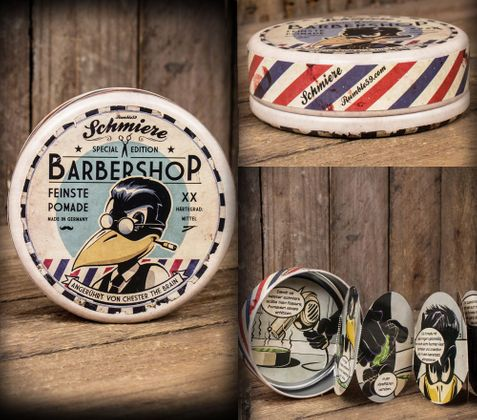 SCHMIERE Barbershop Special Edition mittel v. Rumble59