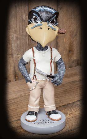 Bob the Earcutter - Schmiere Rabe Armaturenbrett Wackelfigur Wobbler von Rumble59 – Bild 1