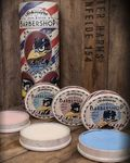 3er Set SCHMIERE Pomade Barbershop Special Edition incl. Rabe Wobbler v. Rumble59 001