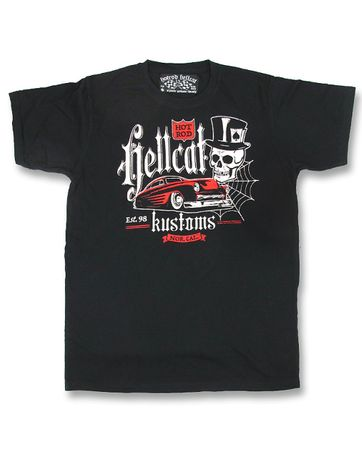 Kustom Car Herren Hot Rod T-Shirt v. Hotrod Hellcat
