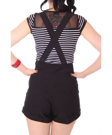 Brienna Suspender Hosenträger High Waist Shorts  v. SugarShock – Bild 19