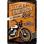 Harley-Davidson The Original Ride 50er retro Tür Blechschild v. Nostalgic Art