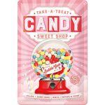 Candy 50er retro Blechschild v. Nostalgic Art