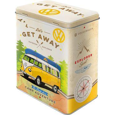 VW Bulli - Let's Get Away! - Vorratsdose v. Nostalgic Art