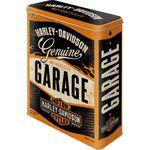 Harley-Davidson Garage 50s retro Blechdose Vorratsdose v. Nostalgic Art 001