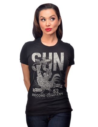 Sun Records Rock n Roll 52 retro Shirt