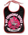 Grandma Rocks Baby Lätzchen v. Six Bunnies