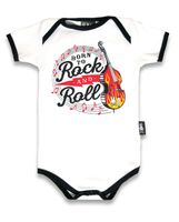 Born to Rock n Roll Baby Body Strampler v. Six Bunnies 001