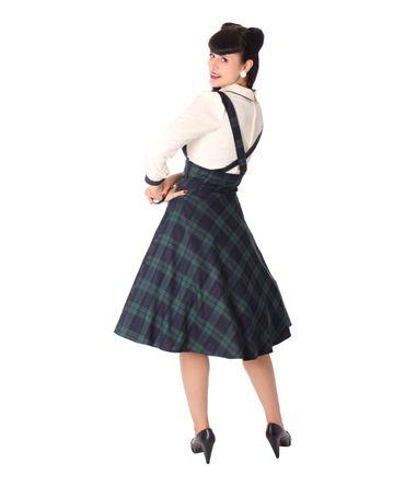 Valentina Tartan retro Petticoat Swing Hosenträger Teller Suspender Rock v. SugarShock – Bild 8
