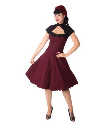 Harbor 40er retro Bolero Swing Petticoat Kleid v. SugarShock