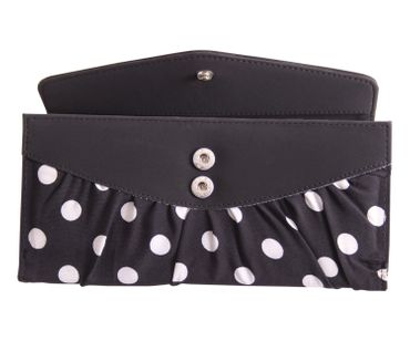 50er retro Jolin Polka Dots Pin Up Geldbörse groß v. SugarShock – Bild 14