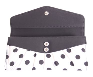 50er retro Jolin Polka Dots Pin Up Geldbörse groß v. SugarShock – Bild 6