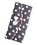 50er retro Polka Dots Rüschen Pin Up Geldbörse groß v. SugarShock