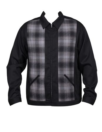 Flannel Plaid Vintage style retro Herren Jacke v. Rock Steady Clothing