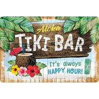 Tiki Bar 50er retro Blechschild v. Nostalgic Art