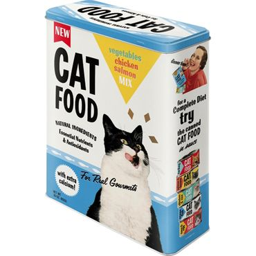 Cat Food retro Blechdose Vorratsdose v. Nostalgic Art