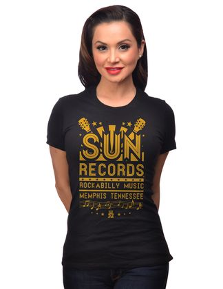 Sun Records Flyer retro T-Shirt – Bild 1