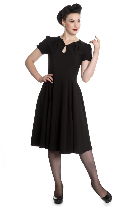 50er jahre retro vintage style petticoat kleid v hell. Black Bedroom Furniture Sets. Home Design Ideas