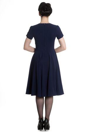50er Jahre retro Vintage Style Petticoat Kleid v. Hell Bunny – Bild 6