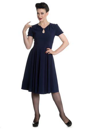 50er Jahre retro Vintage Style Petticoat Kleid v. Hell Bunny – Bild 5