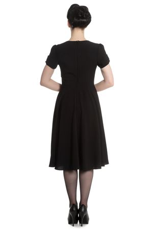 50er Jahre retro Vintage Style Petticoat Kleid v. Hell Bunny – Bild 3