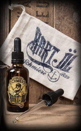 Schmiere Wood Bartöl Beard Oil Bart Öl – Bild 1