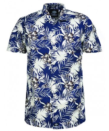 Dickies Rivervale retro Hawaii Sommer Hemd – Bild 4