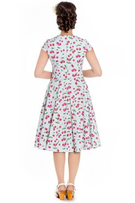 April 50s retro Kirschen Swing Kleid v. Hell Bunny – Bild 3