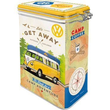 VW Bulli Lets get away - retro Blechdose Vorratsdose Aromadose v. Nostalgic Art