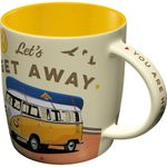 VW Bulli Let´s get away 50s retro Tasse v. Nostalgic Art