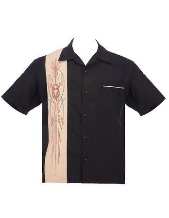 V8 Panel Lounge Casino Shirt v. Rock Steady Clothing