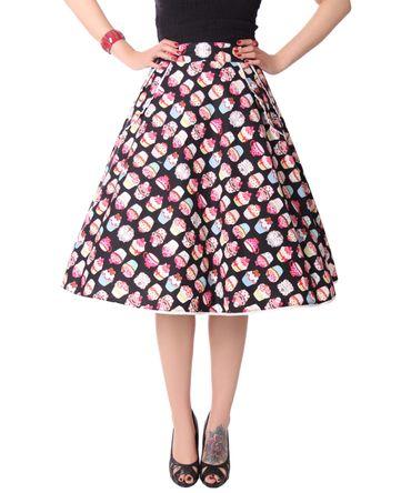 Montra Pin Up Cupcake Schößchen Tellerrock Petticoat Rock  v. SugarShock – Bild 5