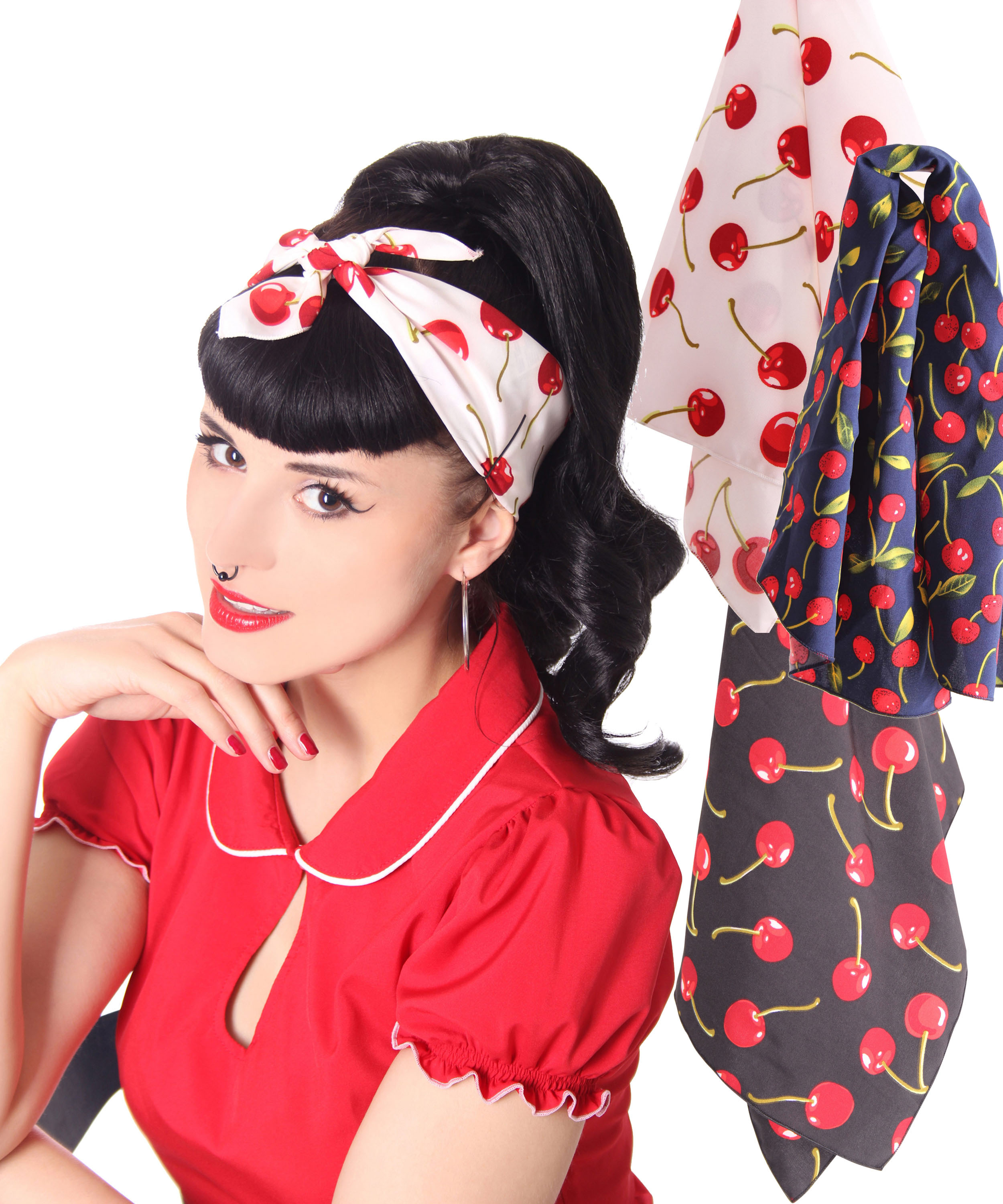 Rockabilly Frisuren Frauen Tuch Frisuren Manner