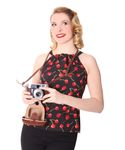 Melta Kirschen 50er Jahre retro Cherry Top v. SugarShock