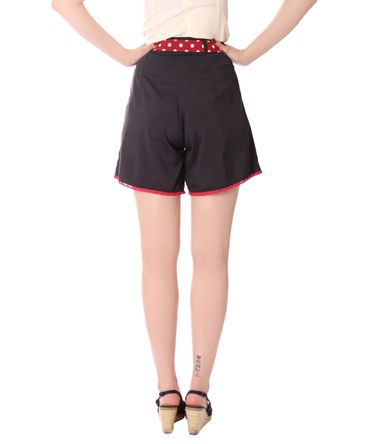 Laudine 50er Jahre retro High Waist Pin Up Sommer Shorts v. SugarShock – Bild 4