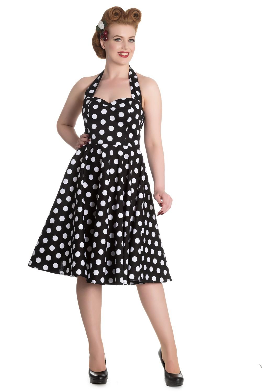 Hell Bunny Mariam 20er anni Polka Dots Swing Vestito PETTICOAT Rockabilly  PIN UP  eBay