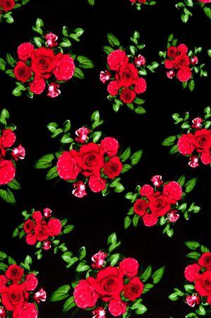 50er Jahre retro Rosen Swing langarm Petticoat Kleid von Hell Bunny – Bild 6