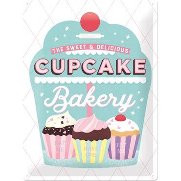 Nostalgic Art Cupcake Bakery 50s retro Liebhaber Deko Blechschild